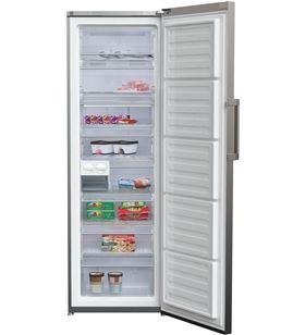 Beko congelador vertical RFNE312E33X no frost a++ inox