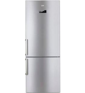Beko frigorifico combi no frost inox RCNE520E31ZX 192cm