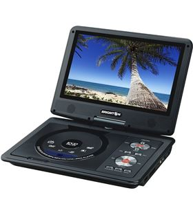 Brigmton reproductor dvd portatil bdvd-1093 BRIBDVD1093