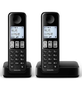Telefono inal Philips d2302b/23 duo manos libres PHID2302B_23
