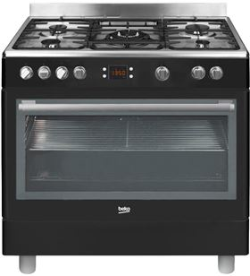 Beko cocina 4 fuegos gas natural GM15310DB
