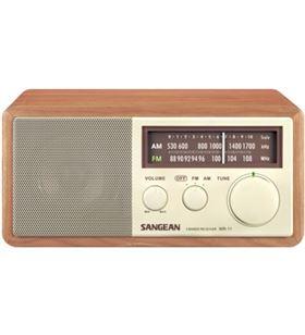 Sangean radio analogica am-fm wr-11 silver WR-11SILVER - WR11