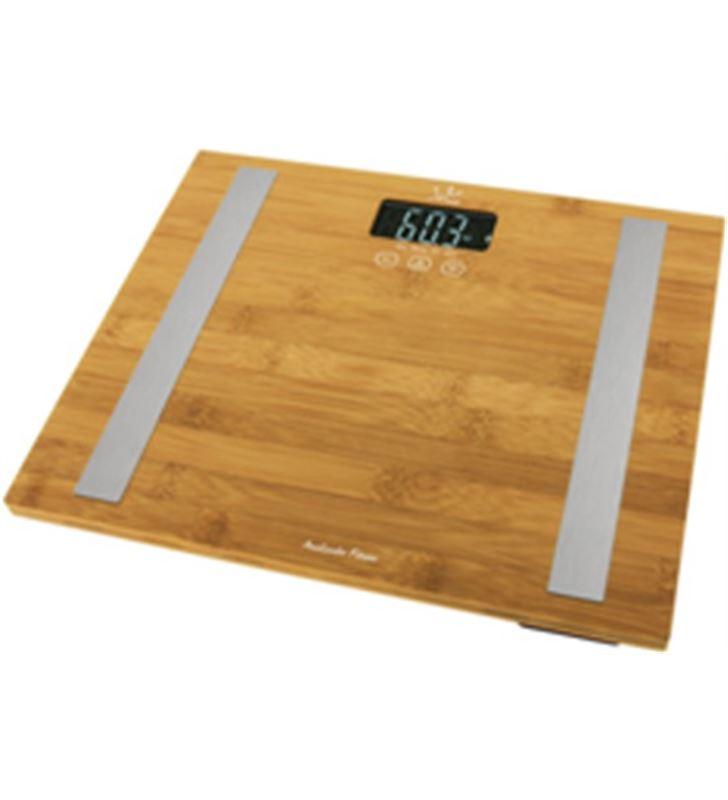 Jata 577 bascula baño hogar 557 analitz fitness bambu - 8436017658095