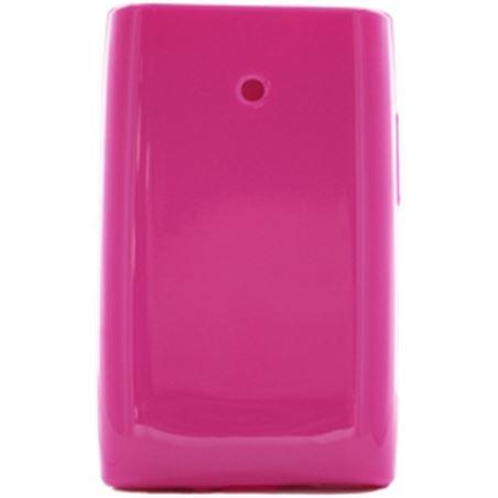 Muvit funda minigel rosa lg l3 muski0100 Ofertas varias - 3700615061034
