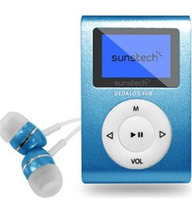 Reproductor mp3 Sunstech DEDALOIII4GBBL Reproductores - 8429015016172