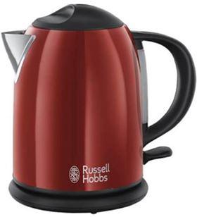 Russel hobbs hervidor compacto flame rojo 2019170
