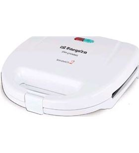 Sandwitchera Orbegozo SW4300 2 unidades blanca