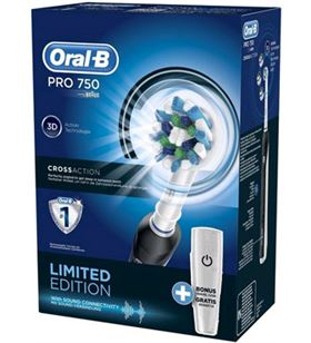 Braun cepillo dental pro750 negro cross action PRO750CROSSACT