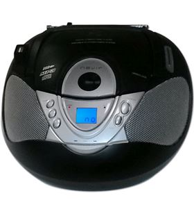 Radio cd Nevir nvr474u mp3 usb negra NVR474NEGRO