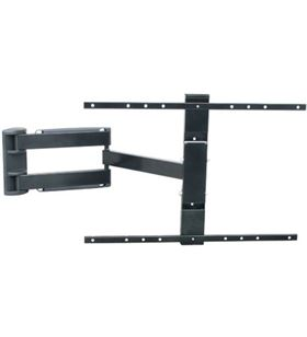 Hifirack soporte pared hifi rack led3 32-55'' brazo