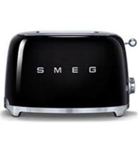 Smeg tostadora 2 rebanadas color negro TSF01BLEU