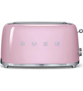 Smeg tostadora TSF02PKEU slice color rosa