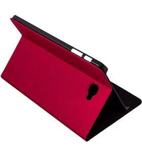 Silver funda tablet roja 10'' bookcase wave para samsung 111936040199 - 111936040199