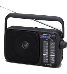 Panasonic radio portatil rf-2400deg-k negra RF2400DEGK - PANRF_2400DEG_K