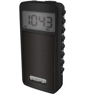 Brigmton BT_126_N radio am/fm digital altavoz memoria negro - BRIBT_126_N