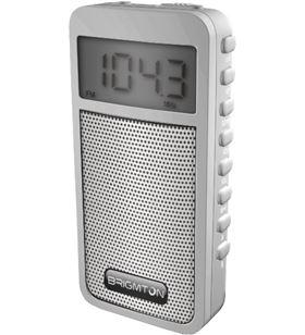 Brigmton radio am/fm digital altavoz memoria blanco BRIBT_126_B - BRIBT_126_B