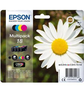 Epson multipack tinta 4 colores claria home 18 C13T18064010 - EPSC13T18064012