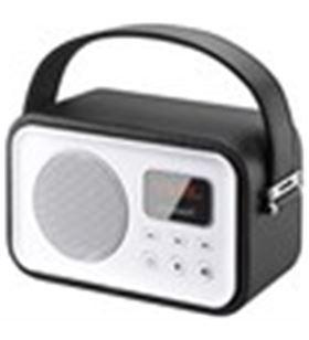 Sunstech RPBT450BK radio portatil rpbt450or retro negra - RPBT450BK