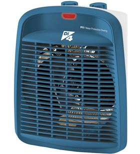 Di4 calefactor de baño diquattro calore blue 2000w azul 83104316