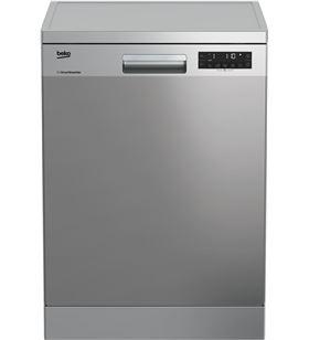 Beko lavavajillas DFN28422X 8p 14s inox 60cm Lavavajillas de 60 cm