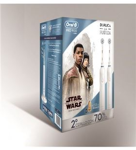 Braun cepillo dental duo pro900 star wars DUOPRO900