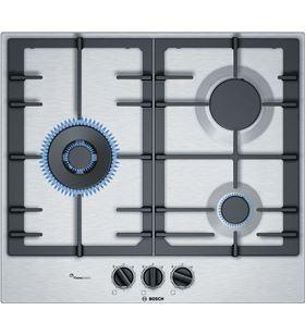 Bosch placa gas PCC6A5B90 nat 3quem. 60cm inox Placa de gas