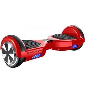 Brigmton patin BBOARD62BTR rojo ruedas 6.5'' Consolas - BBOARD62BTR