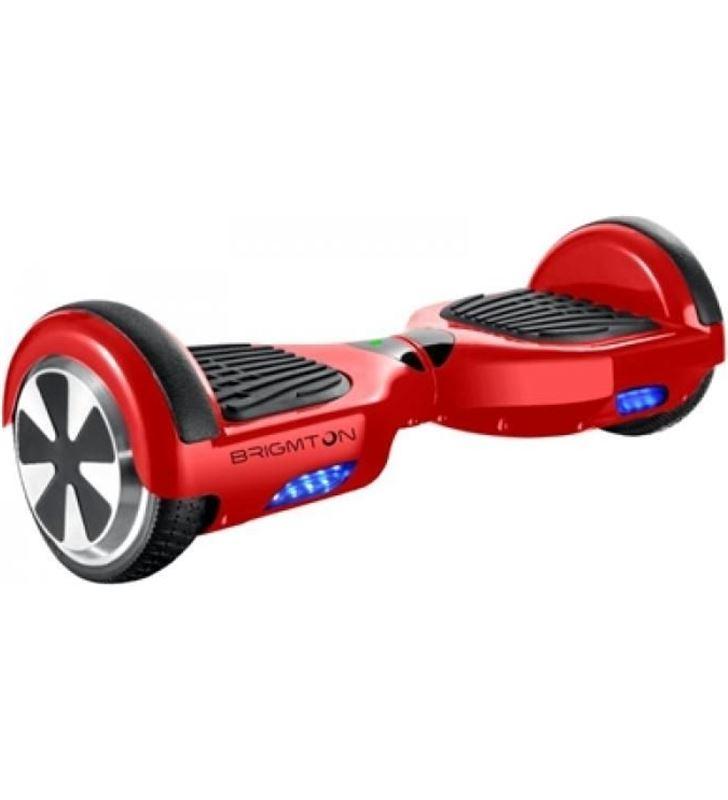 Brigmton BBOARD62BTR patin rojo ruedas 6.5'' Consolas - BBOARD62BTR