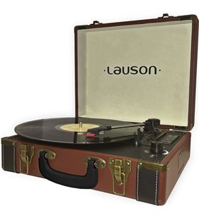 Lauson tocadiscos maletin CL605 piel Tocadiscos - CL605