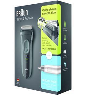 Braun 3000SERIE3 afeitadora eléctrica series 3 shave&style 3000bt 3 en 1 wet & dry - 4210201186595