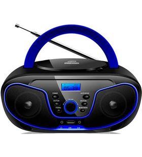 Daewoo radio cd DBU62BL, negro/azul Minicadenas microcadenas - DBU62BL