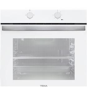 Teka horno independiente 60cm hbb490, blanco, 72l, a, convencional,3 funci 41560021 - 41560021