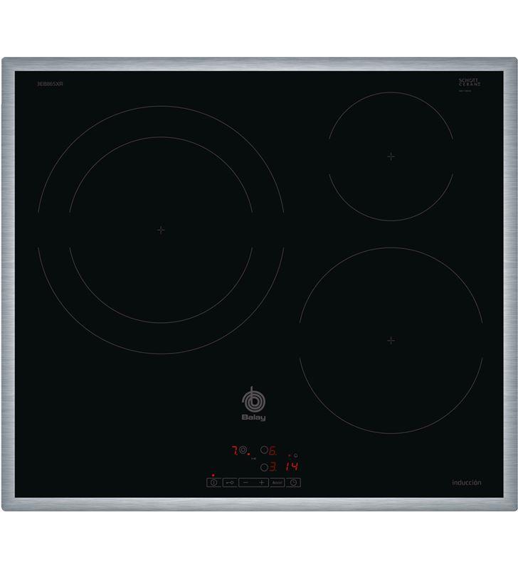 Balay placa induccion independiente 3EB865XR 60cm 3 zonas - 3EB865XR