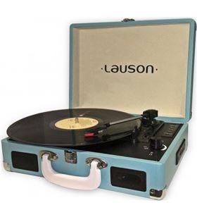 Tocadiscos maletin Lauson CL604 azul Tocadiscos - CL604