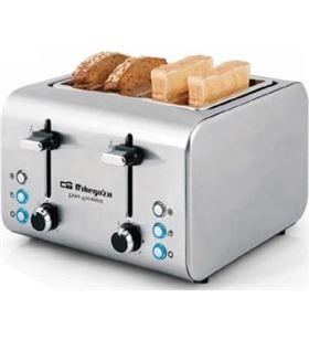 Orbegozo tostador TO8000 para 4 rebanadas de pan Tostadoras