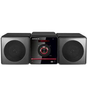 Avenzo microcadena audio cd/bluetooth/usb/fm (AV6023) negro