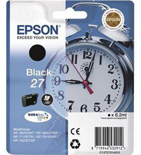 Epson cartucho negro t2701 06160204 C13T27014020 Fax digital cartuchos - C13T27014020