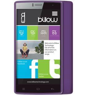 Billow telefono 4,7'' quad core purpura S47QHDP Terminales smartphones - 08156554