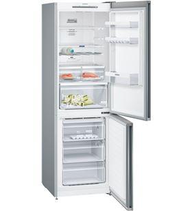 Siemens frigorifico combinado KG36NVI4A acero inoxidable 186cm