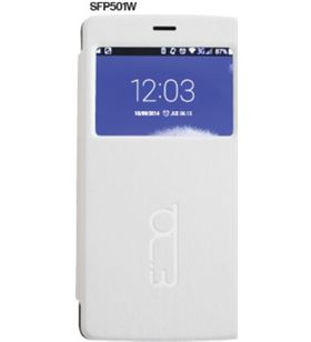 Flip cover Billow 5'' blanco SFP501W Accesorios telefonía - 08156564