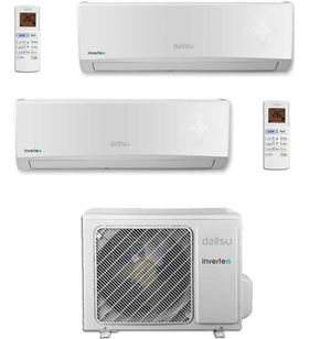 Daitsu aire acondicionado asd9u2idn 2x1 inverter con 2.150 frig/h + 2.150 h DAITASD9U2IDN