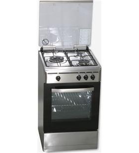 Rommer cocina gas VCH356XFGINOXBUt gas butano Cocinas vitroceramicas - VCH356XFGINOXBUT