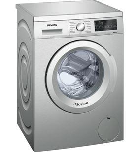 Siemens lavadora carga frontal WU12Q48XES acero inox antihuellas +