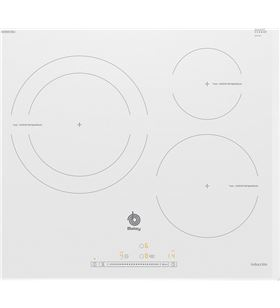 Balay placa electrica induccion 3EB965BU 60cm 3 zonas blanca - 3EB965BU