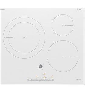 Balay placa electrica induccion 3EB965BU 60cm 3 zonas blanca