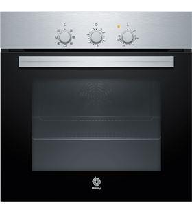 Balay horno independiente 3HB2010X0 clase a+ 60cm inox y negro