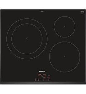 Siemens EH651BJB1E placa induccion 60cm ancho color negro - EH651BJB1E