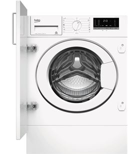 Beko lavadora carga frontal WITV8612XW0 integrable