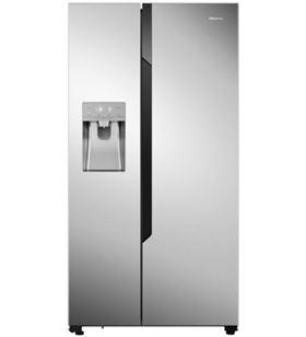 Hisense frigorifico americano RS694N4TC2 179cm nf inox a++