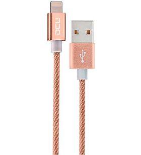 Sihogar.com conexion usb-mfi iphone 5/6/7 dorado aluminio 1m 3 34101210 - 34101210